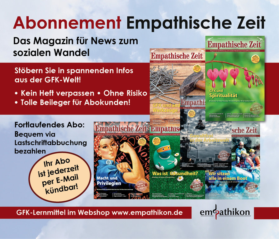 """Empathische Zeit"" Subscription"