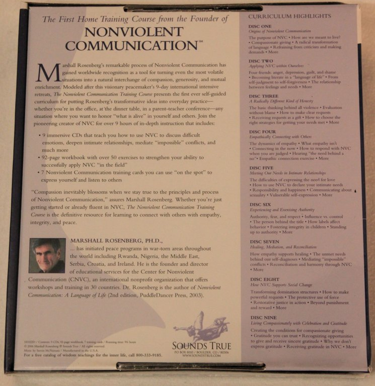 The Nonviolent Communication Training Course - Empathikon-Shop