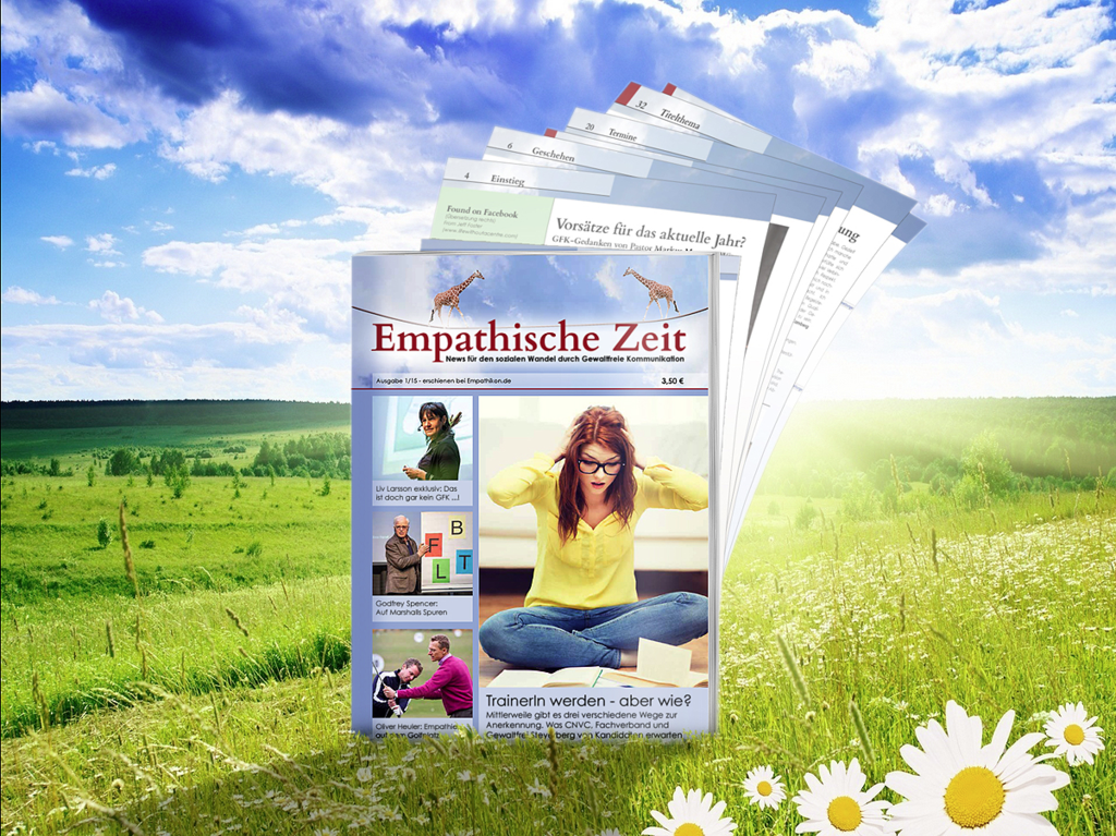 Empathische Zeit Issue 1 from 2015