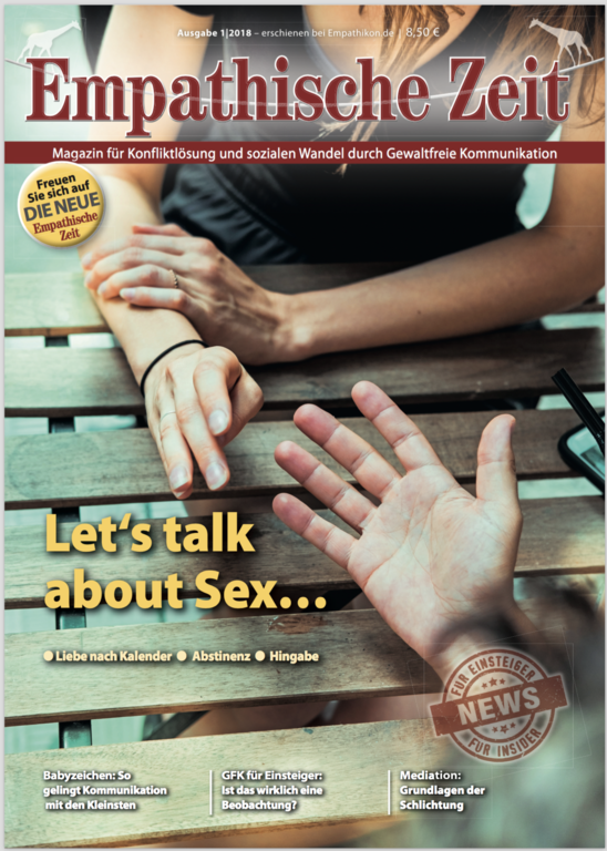 "Empathische Zeit 1/18 ""Lets talk about Sex"""